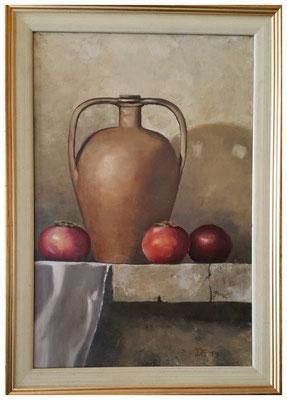 """""""Alter Krug II""""  60 x 40 cm (Privatbesitz)"""