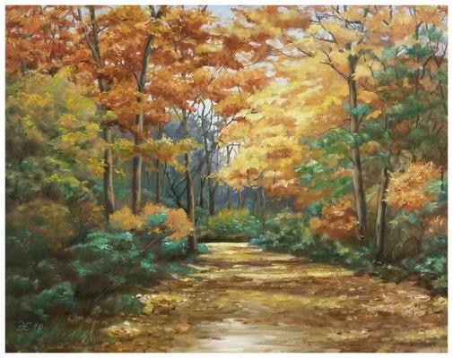 """Goldener Herbst"" 40 x 50 cm"