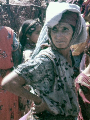 Drifa Chaouech, grand-mère maternelle d'Ammar (Photo JMM 1960)