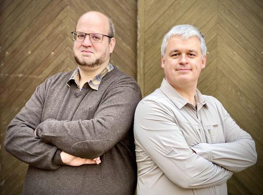 Die Inhaber: Christian Marklewitz & Frank Benka