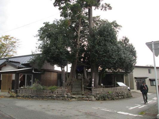畑野 安寿塚