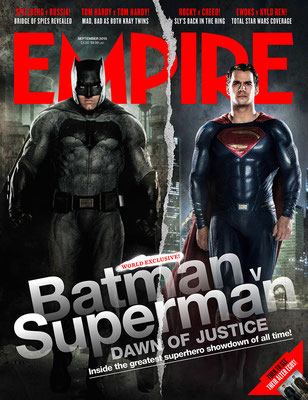 'EMPIRE'  BATMAN & SUPERMAN MAGAZINE