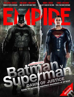 'EMPIRE'  BATMAN & SUPERMAN MAGAZINE