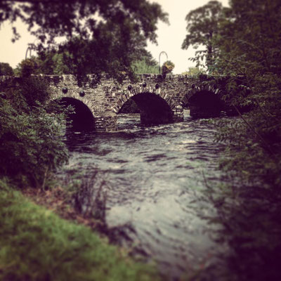 Behy River Bridge in Glenbeigh