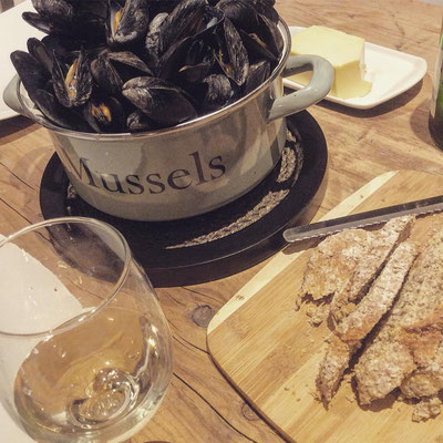 Delicious Mussel dish from Glenbeigh Shellfish