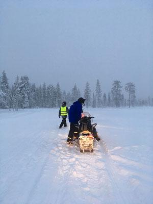 Snowmobiling macht einfach Spaß!