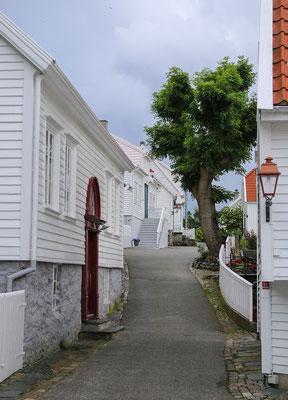 Die Gassen von Skudeneshavns Gamle by