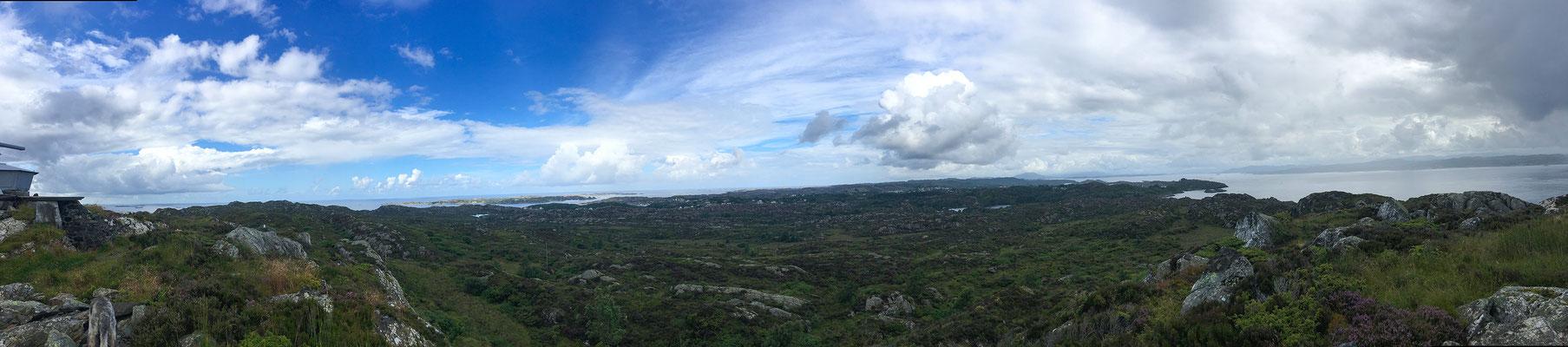 Welch ein Panorama :-)