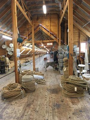 ... sogar Seile werden hier hergestellt...