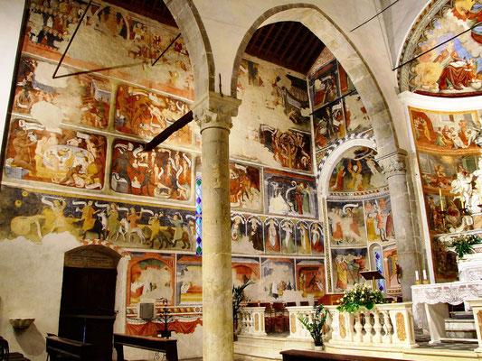 Santuario di Montegrazie - Interni