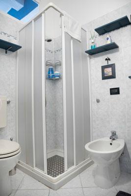 Bathroom - Shower, WC and bidet