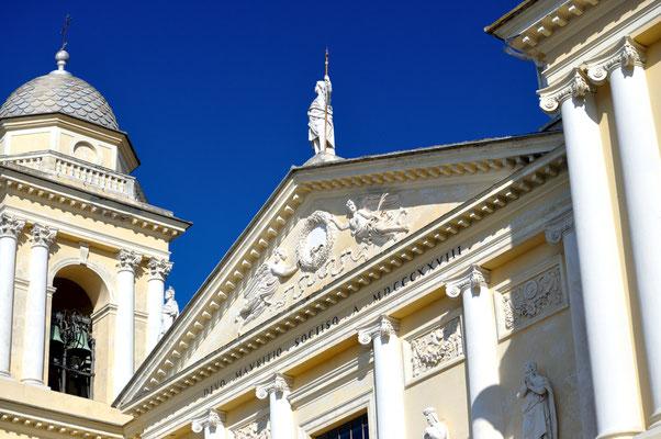 San Maurizio's Duomo Facade