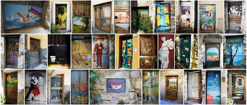 Valloria - Porte dipinte