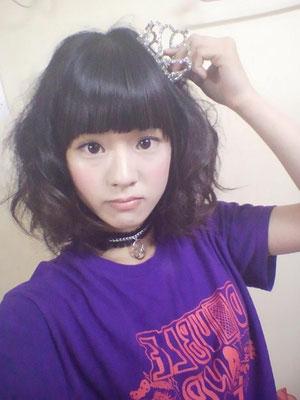 2&Tシャツ model:saki(2&) 制作:音ノ怪 絵ノ怪