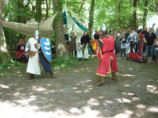 Schwertkampf der Ritter
