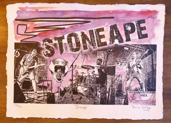 """Reiner Schlag     """"Stoneape""""      37/41"""