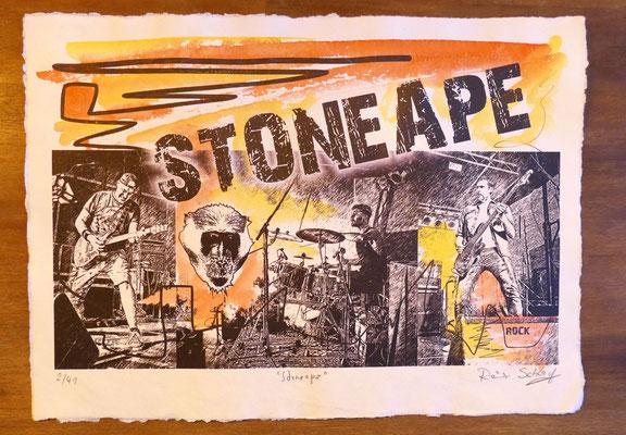 """Reiner Schlag     """"Stoneape""""      2/41"""