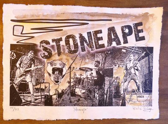 """Reiner Schlag     """"Stoneape""""      11/41"""