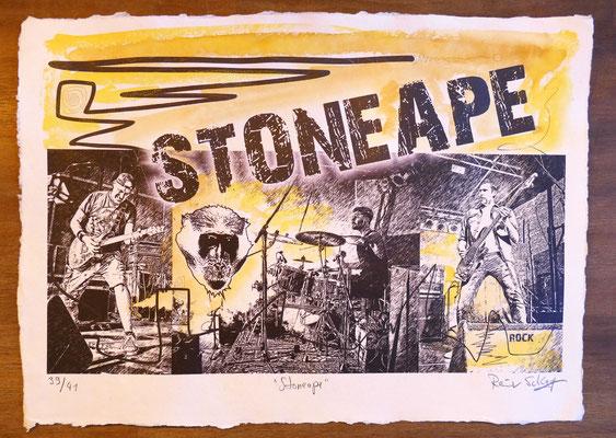 """Reiner Schlag     """"Stoneape""""      39/41"""