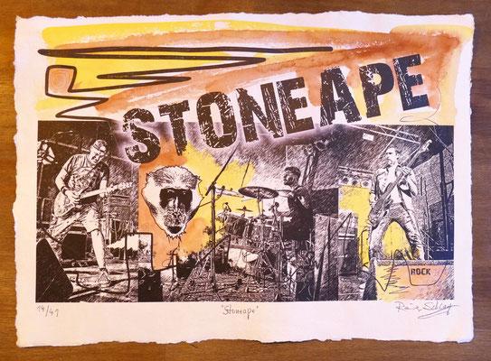 """Reiner Schlag     """"Stoneape""""      14/41"""