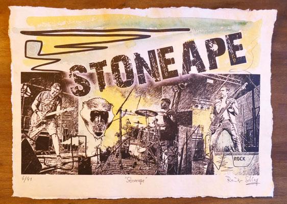 """Reiner Schlag     """"Stoneape""""      6/41"""