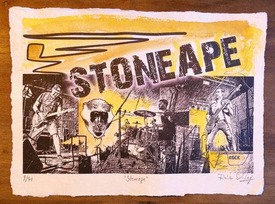 """Reiner Schlag     """"Stoneape""""      9/41"""