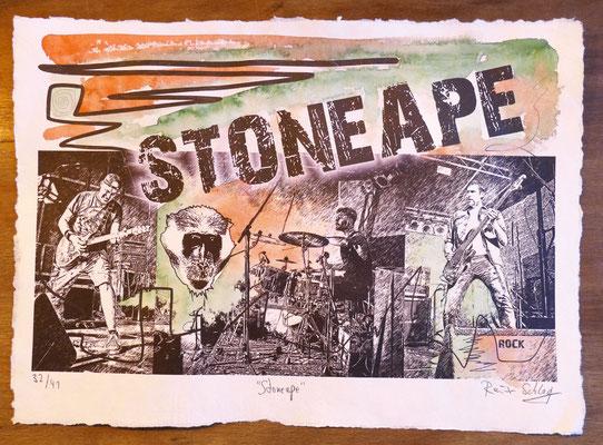"""Reiner Schlag     """"Stoneape""""      32/41"""