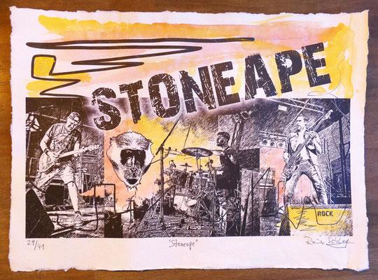 """Reiner Schlag     """"Stoneape""""      29/41"""