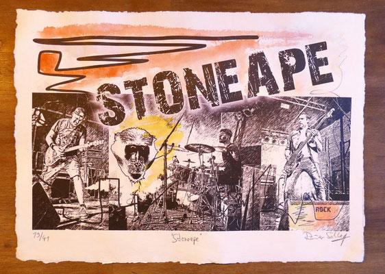 """Reiner Schlag     """"Stoneape""""      19/41"""