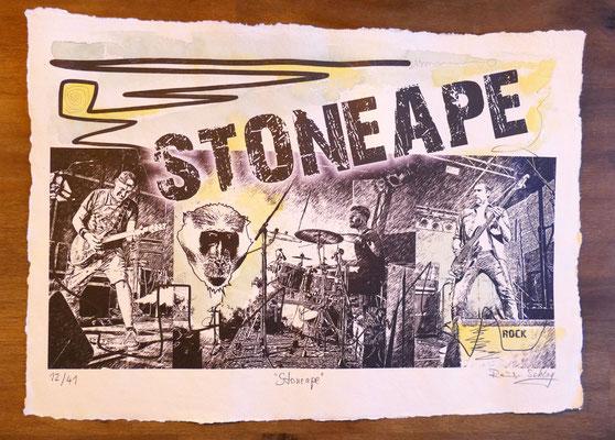"""Reiner Schlag     """"Stoneape""""      12/41"""