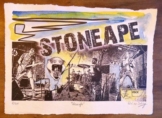 """Reiner Schlag     """"Stoneape""""      8/41"""