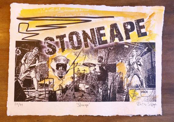 """Reiner Schlag     """"Stoneape""""      20/41"""