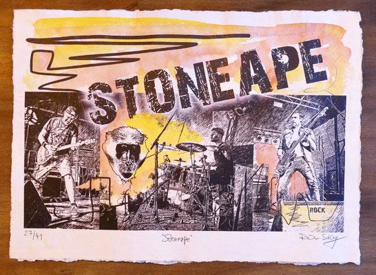 """Reiner Schlag     """"Stoneape""""      27/41"""