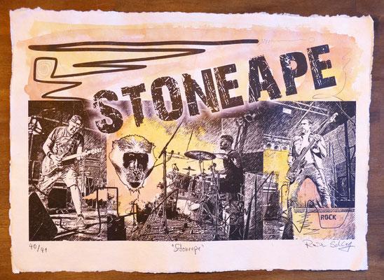 """Reiner Schlag     """"Stoneape""""      40/41"""