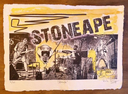 """Reiner Schlag     """"Stoneape""""      4/41"""
