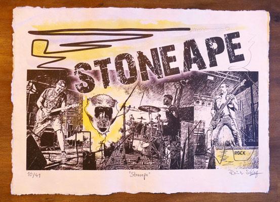 """Reiner Schlag     """"Stoneape""""      10/41"""