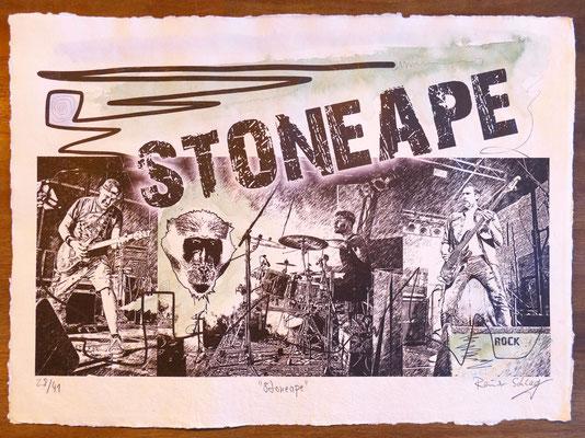 """Reiner Schlag     """"Stoneape""""      28/41"""