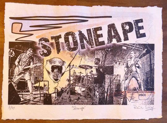"""Reiner Schlag     """"Stoneape""""      7/41"""