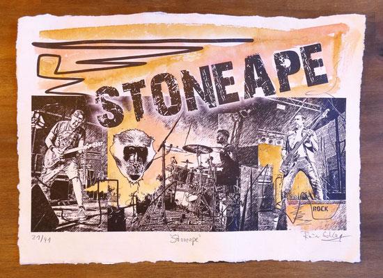 """Reiner Schlag     """"Stoneape""""      21/41"""