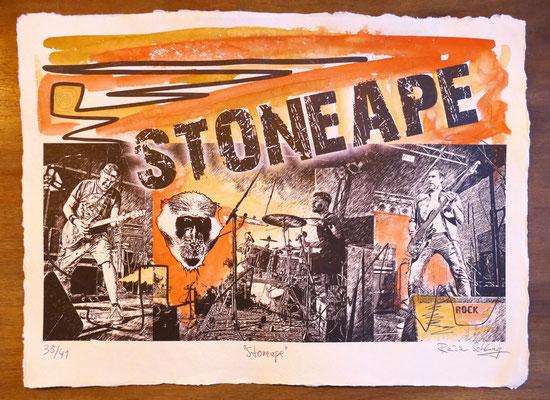 """Reiner Schlag     """"Stoneape""""      35/41"""