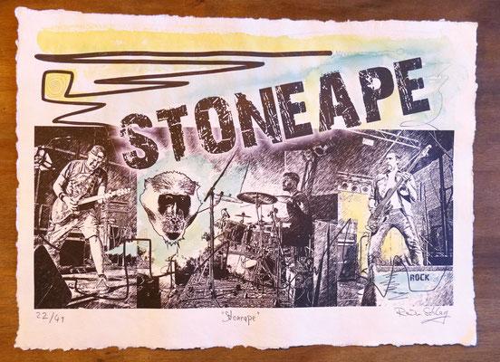 """Reiner Schlag     """"Stoneape""""      22/41"""