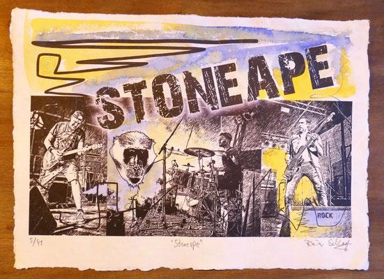 """Reiner Schlag     """"Stoneape""""      5/41"""