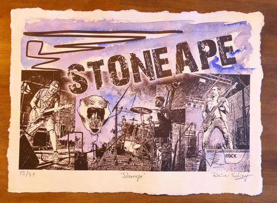 """Reiner Schlag     """"Stoneape""""      13/41"""