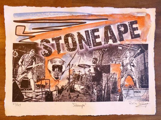 """Reiner Schlag     """"Stoneape""""      23/41"""