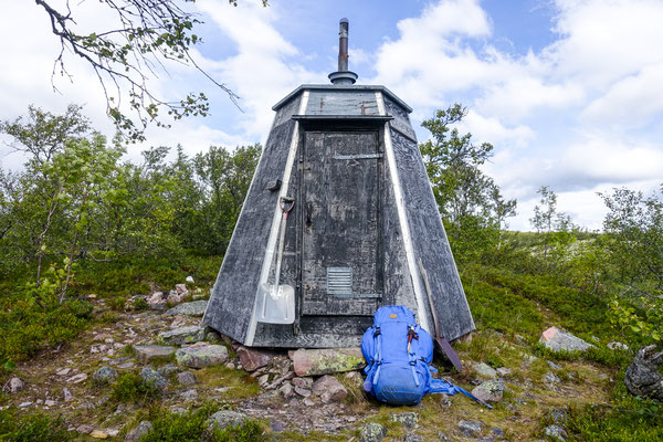Hiking in Fulufjället, Dalarna, Sweden © François Struzik - simply human 2017