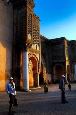Meknès a UNESCO world heritage medina - © François Struzik - simply human 2009 - Morocco - Bab Mansour