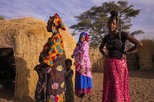 Dahra,  small scale milk producer, SOS Faim - Djolof, Senegal © François Struzik - simply human 2017