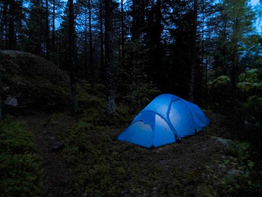 Kynnefjäll - Bohuslän - Sweden - © François Struzik - simply human 2014 - Abisko Lightweight  tent from Fjällraven