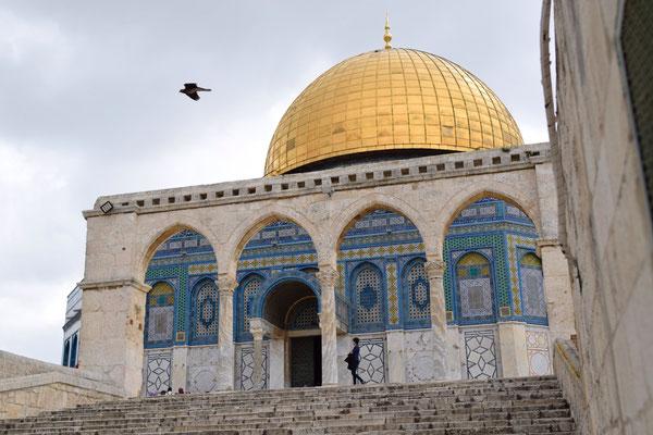 Esplanade des mosquées, Jerusalem © Olga Struzik Pränting, 2019