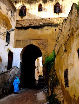 Meknès a UNESCO world heritage medina - © François Struzik - simply human 2009 - Morocco